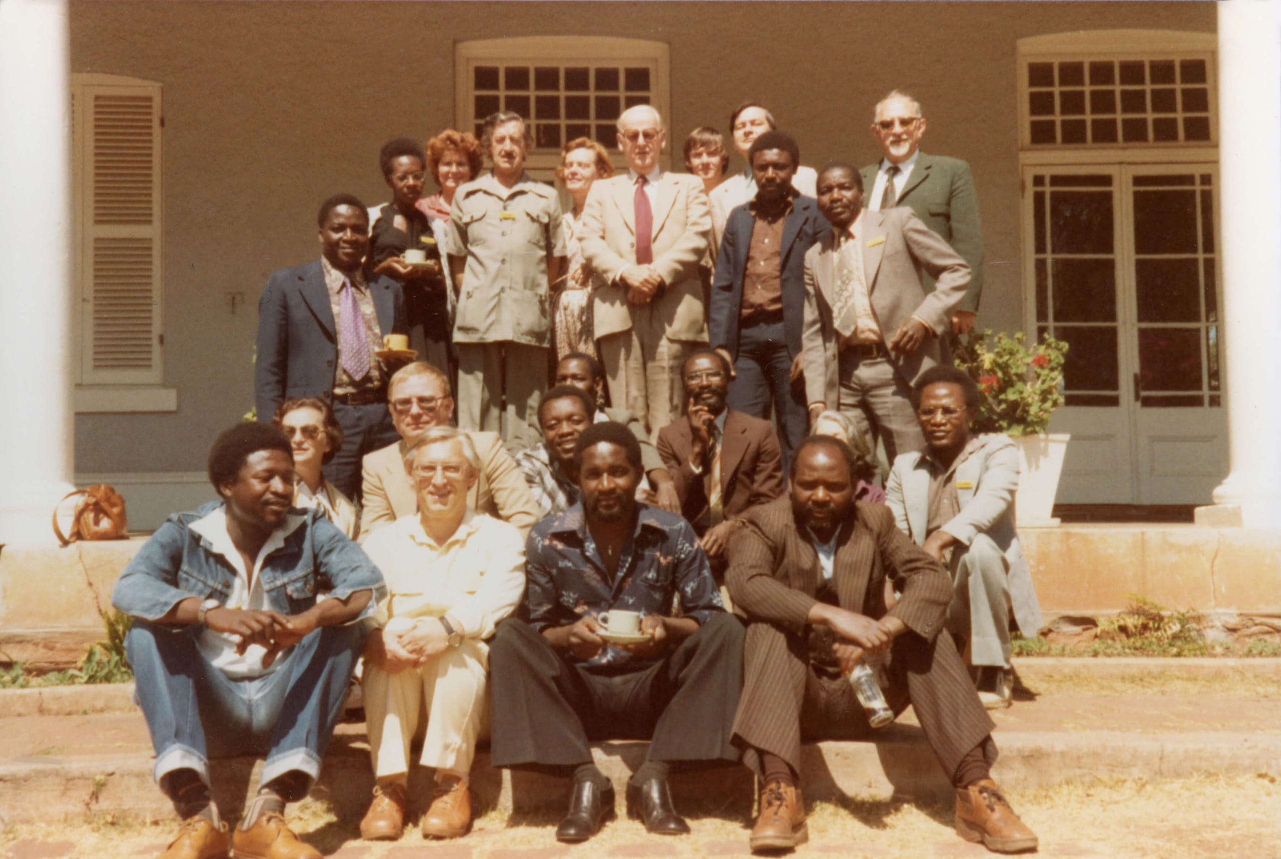 First Media semina in Zimbabwe 1980