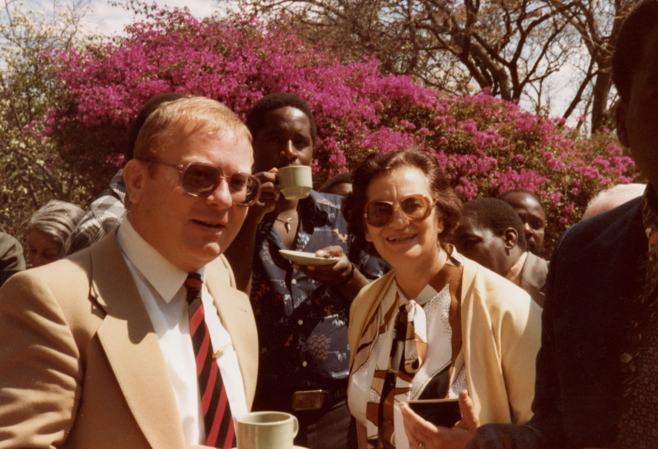 Ruth Weiss at first Zimbabwe Media Conference